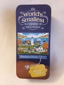 MasterPieces Worlds Smallest jigsaw 1000 Piece Puzzle Bonnie White Watching over