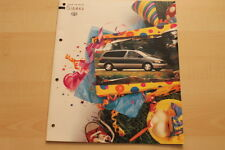 75069) Toyota Sienna USA Prospekt 08/1997