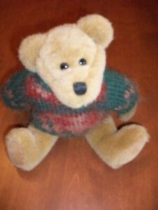 "9"" Boyd's Bear with Sweater"