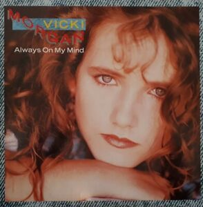 "Vicki Morgan-Always On My Mind Vinyl 12"" Single.1989 Parlophone 12R 6231."