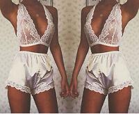 Sexy Lingerie Lace Dress Babydoll Womens Underwear Nightwear Sleepwear G-string