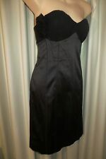 VINTAGE ~ OTTO MODE VIP ~ Black  WIGGLE BRA DRESS * Size M * REDUCED !!