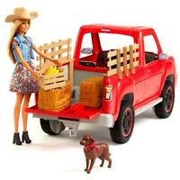 Barbie Sweet Orchard Farm Doll & Pickup Truck with Accessories