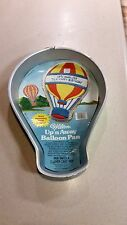Wilton Cake Pan Mold Up n' Away Balloon  Pan Picture & Instructions Vintage 1982