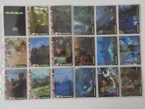 Godzilla Movie  Japanese Version     Full set of   45  Trading Cards