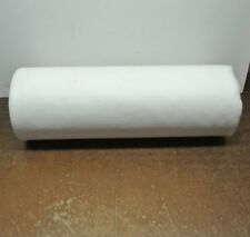 Polypropylene Felt Rolls 20 Inches Wide X 75 Feet Long per Roll Pure White New