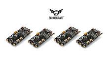 4x SCHUBKRAFT 35A F396 ESC Ultra-Mini BlHeli OneShot ESC 29x16mm nur 3g! FPV