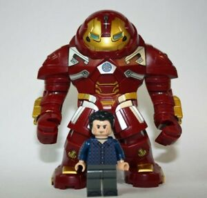 NEW Super Heroes Hulkbuster and Bruce Banner Set 76104 Lego Minifigures