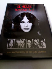 "DVD ""EL HEREJE (EXORCISTA II 2)"" JOHN BOORMAN LINDA BLAIR RICHARD BURTON MAX VON"