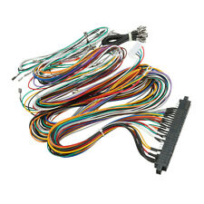 Wiring Harness Cable DIY Kit Parts Assemble For Arcade Jamma Board Machine USA