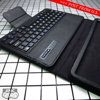 Bluetooth Keyboard Leather Case Cover for Samsung SM-T580 Galaxy Tab A 10.1 2016