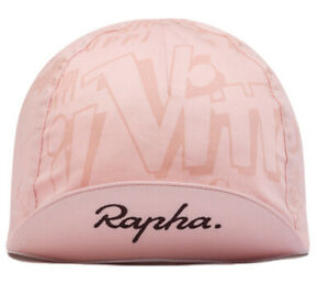 Rapha Coppi Cycling Cap -new W Tag - One Size-Pink -COLLECTIBLES