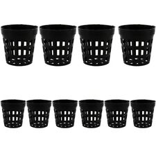 10pcs Aquarium Plastic Pot Aquatic Water Plant Grass Cultivate Planting Baskets