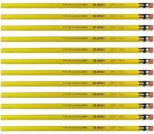 Prismacolor Col-erase Erasable Colored Pencil - Yellow - 20047 - 12PC USA Made