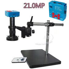 21MP 1080P 60FPS HDMI USB Industrial Microscope Digital Camera +180X Zoom Lens S