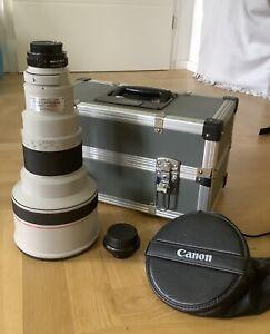 Objektiv Canon FD 400mm 1:2.8 L + Konverter