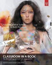 NEW - Adobe Creative Suite 6 Design & Web Premium Classroom in a Book