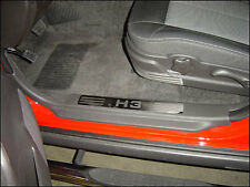 HPC HUMMER H3 STAINLESS STEEL DOOR SILL PLATES (SET OF 4)