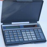 Vintage Texas Instruments Scientific Calculator Ti 35 Galaxy Solar with Case