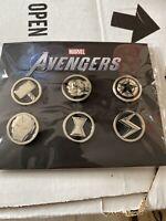 Marvel Avengers Preorder Bonus Pin Set, Gamestop Exclusive, Limited Edtion, Rare