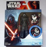 "STAR WARS The Force Awakens KYLO REN Armour Up 3.75"" Action Figure Disney Hasbro"