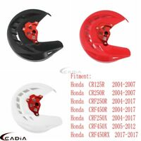 X-Brake Front Brake Disc Guard Cover Protector For Honda CRF250R 450R 250X 04-17