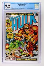 Incredible Hulk #169 - Marvel 1973 CGC 9.2 1st Appearance of the Bi-Beast. Harpy