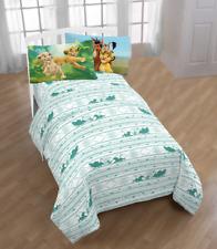 The Lion King Jungle 3 Piece Microfiber Twin Bedding Sheet Set & Pillowcase Kids
