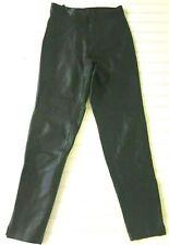 North Beach Leather Pant M Hoban VTG 5/6 Black Soft Lambskin Hi Rise Tight Fit