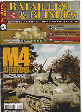 BATAILLES & BLINDES N°47 OTTO CARIUS / M4 SHERMAN / 20 PZD BOBROUISK / FULLER