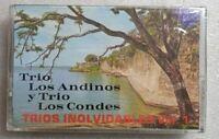 Trio Los Andinos y Los Condes Trios Inolvidables  PETTY 3114 Cassette Sealed