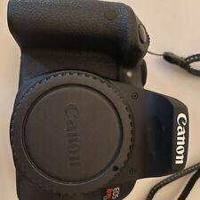 Canon EOS Rebel T7i 24.2 MP Digital SLR Camera - Black (Body Only) + accessories
