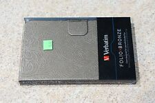 "Verbatim Folio Case for Kindle Fire HD 7"" Bronze New In Package NIP"