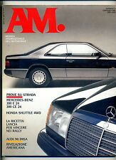 AM. #N.5 Gennaio 1990#Mondadori  Rivista Mensile Internazionale dell'Automobile