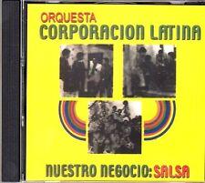 CORPORACION LATINA -NUESTRO NEGOCIO ES LA SALSA -- CD (NO REMASTERIZADO  CD)