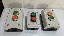 Telemechanique - Start Stop Push Button Station  3 pc lot