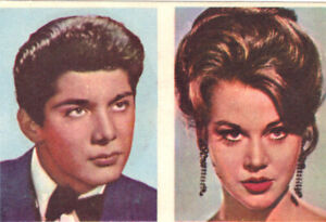 NATALIE WOOD JANE FONDA PAUL ANKA TROY DONAHUE Hollywood Trading Card