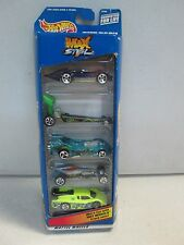 Hot Wheels 5 Car Gift Pack Max Steel w dragster