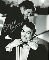 Hand Signed 8x10 photo BRUCE GLOVER - DIAMONDS ARE FOREVER in JAMES BOND + COA