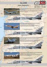 1/48 AMC_148022 Print Scale Decals Su-24M Syrian Warriors