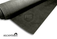 1/2M x 1.42M Genuine Charcoal Real Alcantara Un-backed Panel Fabric