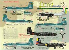 FCM Decals 1/72 DOUGLAS A-26 INVADER Latin American Service