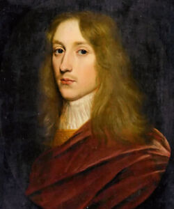 Oil painting gerard van honthorst - portrait handsome young man hand painted art