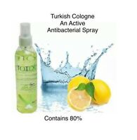 TOTEX - NATURAL LEMON Cologne - Aftershave Spray - Kolonya - 200 ml