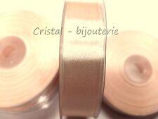 ♥1 ROLLO CINTA DE RASO COLOR CREMA/BEIG  2 cm x 22 m aprox. ♥