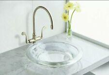 KOHLER - K-2276-TG2 Glass® Vessel drop-in bathroom sink - Translucent Dew
