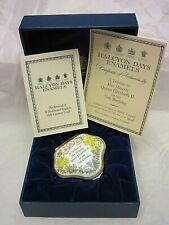 New ListingHalcyon Days Trinket Box Tribute to Her Majesty Qeii 75th Birthday #315 in Box