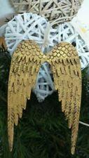 Markenlose Christbaumschmuck aus Metall mit Engel-Motiv