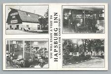 """Hapsburg Inn """"Good Food"""" DES PLAINES Illinois—Roadside Multiview Vintage Bar '42"""