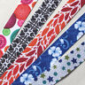 5Y Mix Color Printed Grosgrain Ribbon Craft Sewing Appliques Width 22mm